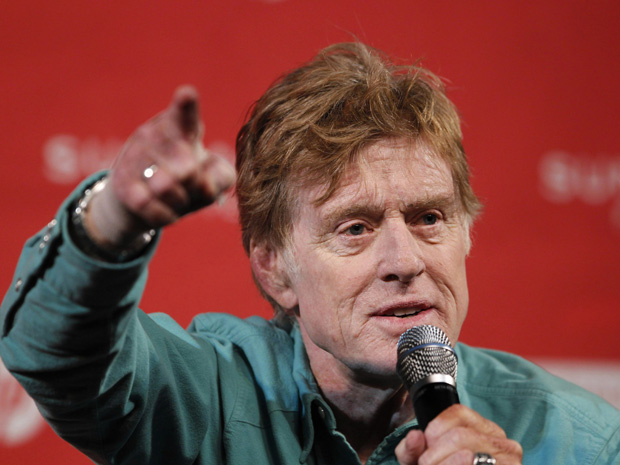 Sundance Film Festival founder Redford answers a question during the opening news conference at the 2010 Sundance Film Festival in Park City