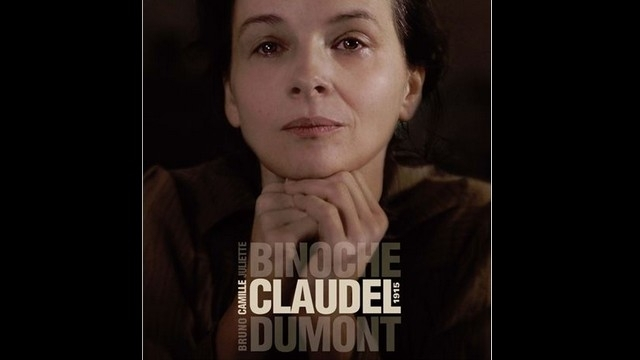 binocheCamille Claudel 1915 poster 2