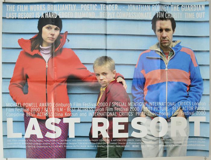 Last Resort : Original Cinema Quad Poster