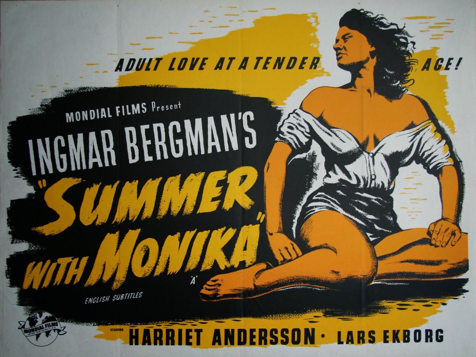 SUMMER WITH MONIKA - UK Poster