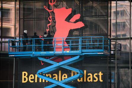 Preparations - 69th Berlin Film Festival, Germany - 02 Feb 2019
